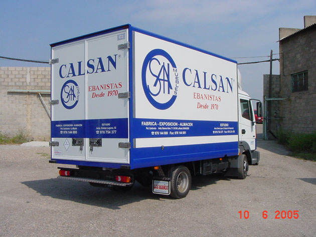 Transporte de muebles for Transporte muebles