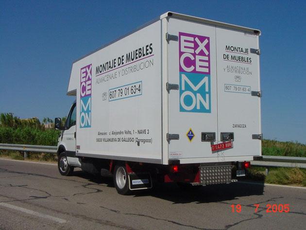 Transporte de muebles idea creativa della casa e dell for Transporte de muebles barcelona